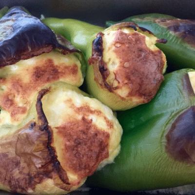 pulneni zeleni chushki