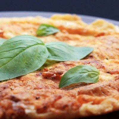 omlet s bosilek1