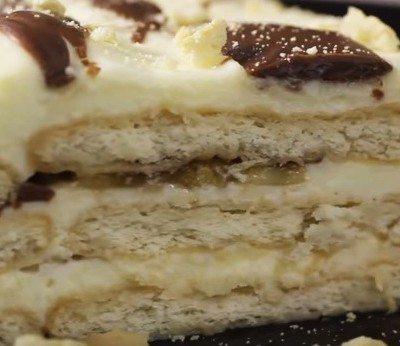 biskvitena torta Nestle