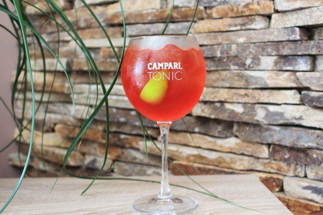 Коктейл Campari Tonic