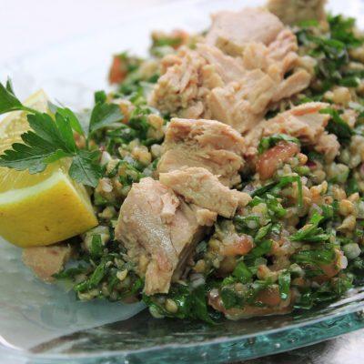 salata ot elda s riba ton