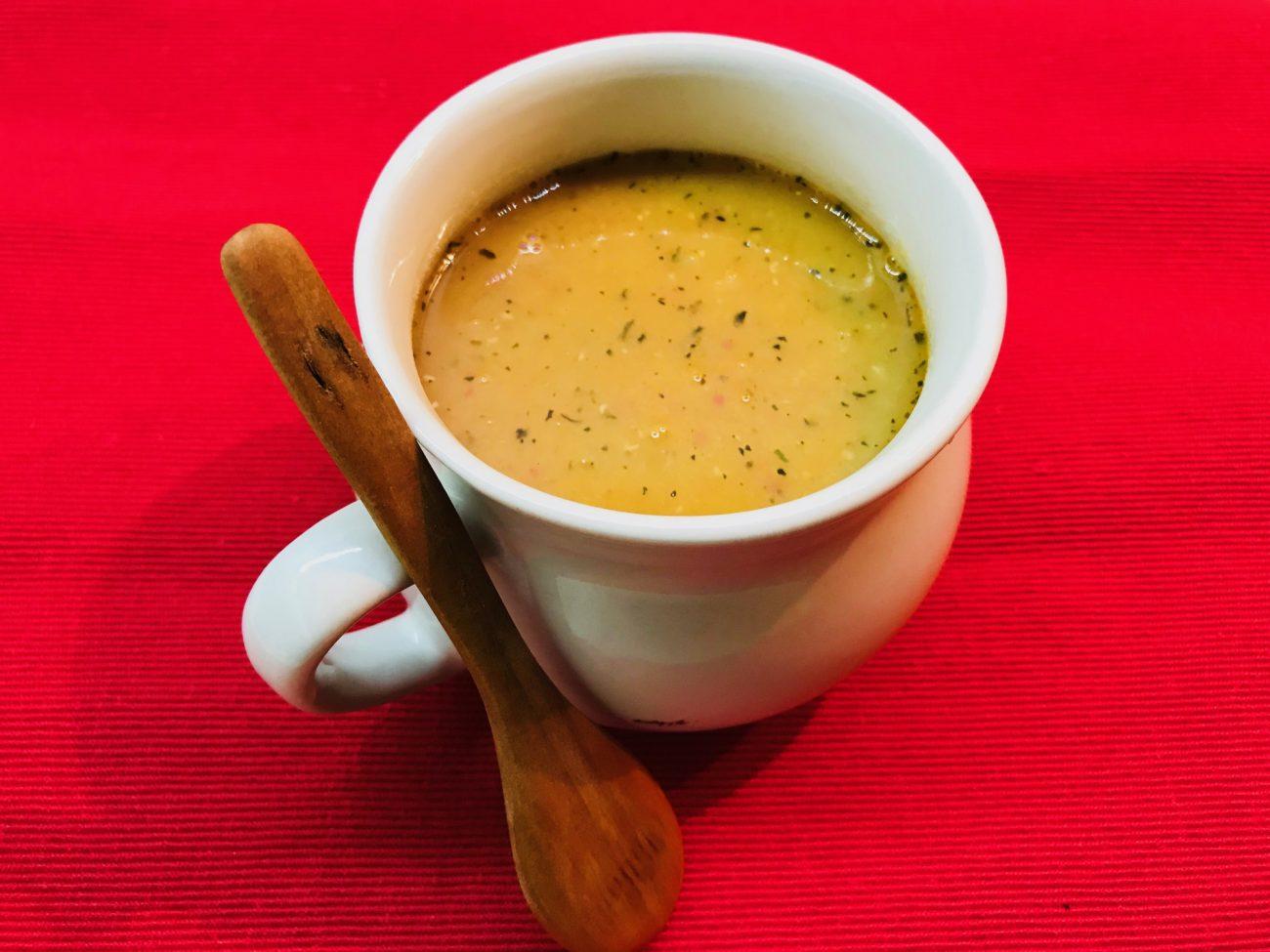 Мерджемек с чушки – турска крем супа от червена леща