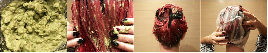 Подхранваща маска за коса с авокадо, зехтин и жълтък